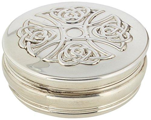 Edwin Design Croix Celtique Flasque & Co Boîte à Bijoux, en étain