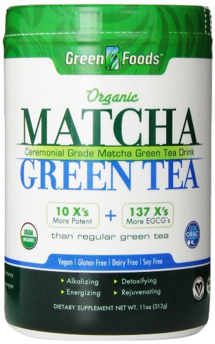 Orgánica té verde Matcha 11 oz (312 g) - Green Foods Corporation