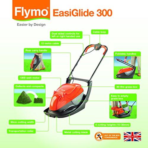 Flymo Easiglide 300 Luftkissenmäher im Test - 2