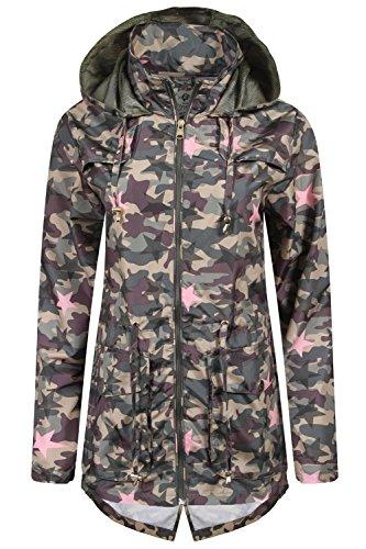 tokyo-laundry-fusion-womens-rain-coats-star-camo-size-uk-10