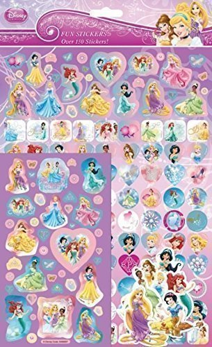 Disney Princess Sticker Mega Pack - 150+ Stickers