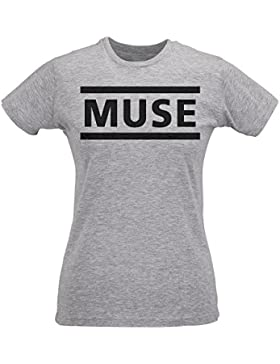 Camiseta Mujer Slim Muse - Maglietta 100% algodòn ring spun LaMAGLIERIA