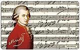 Fridolin 12231 Mozart Planche à Découper Mélamine Multicolore 23,5 x 0,2 x 14,5 cm