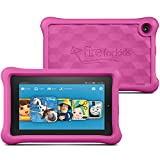 """Fire Kids Edition Tablet, 7"""" Display, Wi-Fi, 16 GB, Pink Kid-Proof Case"""