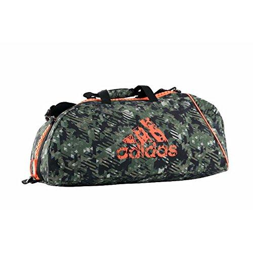 adidas Sporttasche Combat Bag Camouflage/Orange, Größe L Orange Camouflage