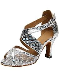 F&M Fashion - Zapatos de tacón  mujer
