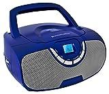 Schaub Lorenz BB 300-C Tragbares CD-Radio blau