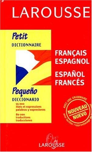 Petit dictionnaire Français - Espagnol (export, Espanol - Frances) par Loison