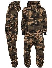 Urban Classics Camo Jumpsuit, wood camo