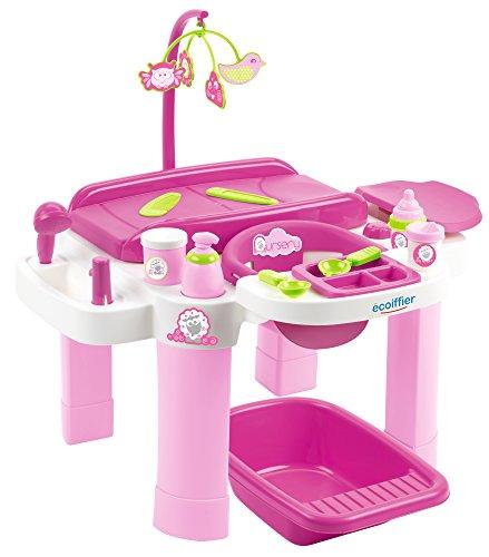 Jouets Ecoiffier - 2879 - Nursery pour enfants - Jeu d'imitation - Dès 18 mois - Fabriquée en France