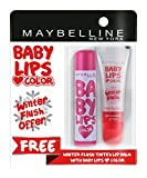 #7: Maybelline New York Baby Lips, Winter Flush, 4.4g and Baby Lips, Candy Rush Gummy Grape, 4g