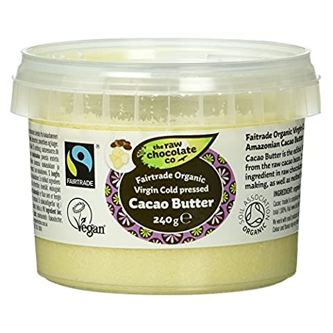 The Raw Chocolate Company Bio Cacao Butter, vegan, 240 g