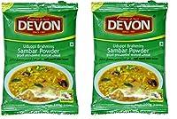 Devon Foods Udupi Brahmins Sambar Powder Masala 100 Grams (Pack of 2)