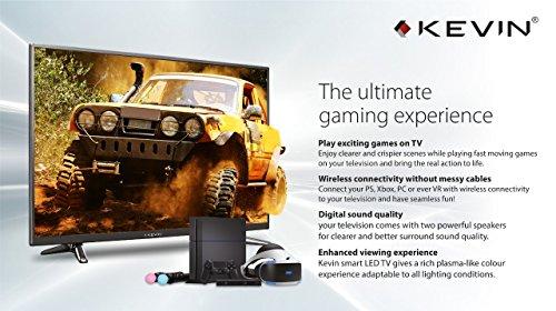 Kevin 80 cm (32 Inches) K56U912BT HD Ready LED TV with Bluetooth (Black)