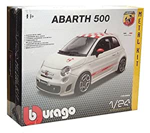 Burago - 25084 - Fiat 500 Abarth 2008 - 1:24 - Model Kit