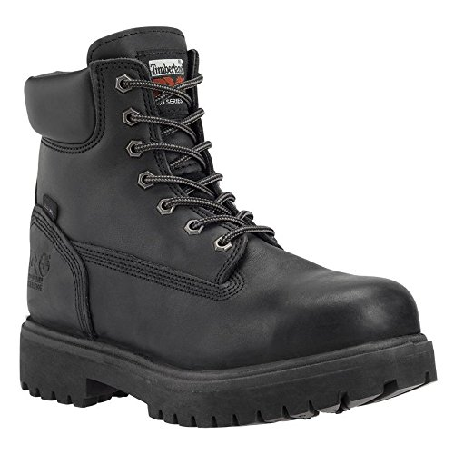 Timberland Pro Herren Direct Attach Safety Leder Stiefel (36 EU) (Schwarz)