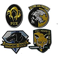 Metal Gear Solid Cosplay Airsoft Iron on Patch Set – Parche nadadores