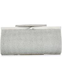 Mode-Frauen Funkeln-Handtasche Kristall-Diamante Sparkly Silber-Gold-Schwarz-Abend-Braut-Abschlussball-Partei-Handtaschen-Geldbeutel