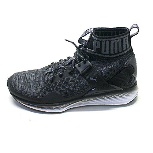 Puma Ignite Evoknit Homme Baskets Mode Noir Noir