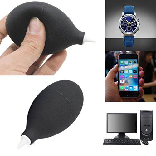 Air Pumpe von, hunpta Gummi Air Pumpe von Staub Gebläse Tastatur Digital Kamera Objektiv Uhr Handy Computer Laptop PC und Bildschirm (Uhr Kamera Digital)