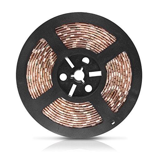 allomn DC 12V 5050Lichtleiste wachsen Dichte LED-Pflanzenlicht Bar Rot: Blau (5: 1) - 5 m