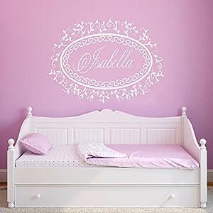Wandtattoo babyzimmer mädchen  Wandtattoo Kinderzimmer Mädchen Name günstig online kaufen   Dein ...