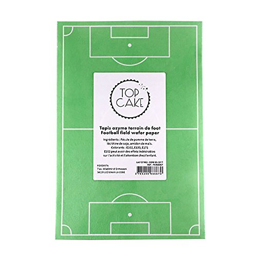 Rectangle azyme Terrain de Foot
