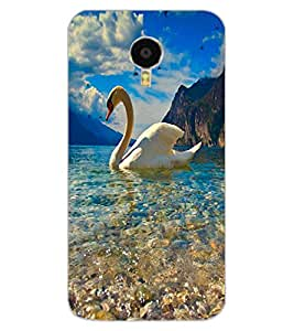 ColourCraft Lovely Duck Design Back Case Cover for MEIZU BLUE CHARM NOTE 3
