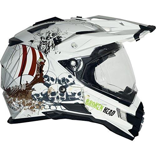 Broken Head Fullgas Viking glanz Enduro Helm (L 59-60 cm)