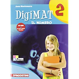 Digimat. Per la Scuola media. Con CD-ROM: DIGIMAT 2 ARIT+GEOM+INV +CD