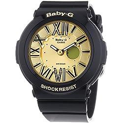 Casio Damen-Armbanduhr XL Baby-G Analog - Digital Quarz Resin BGA-160-1BER