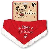 yappy Weihnachten Bandana für Hunde verstellbar Größe
