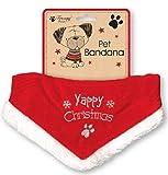 Yappy Noël Bandana pour chiens réglable taille