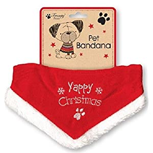 Yappy-Christmas-Bandana-For-Dogs-Adjustable-Size-Fits-Most