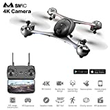 SMRC M6 4K Video RC Drone HD Gimbal Double Cameras WIFI FPV Quadcopter