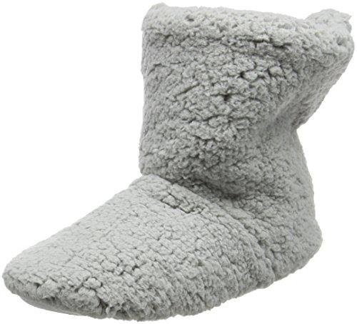 Eaze Grey Fleece, Chaussons femme - Gris - Gris, L