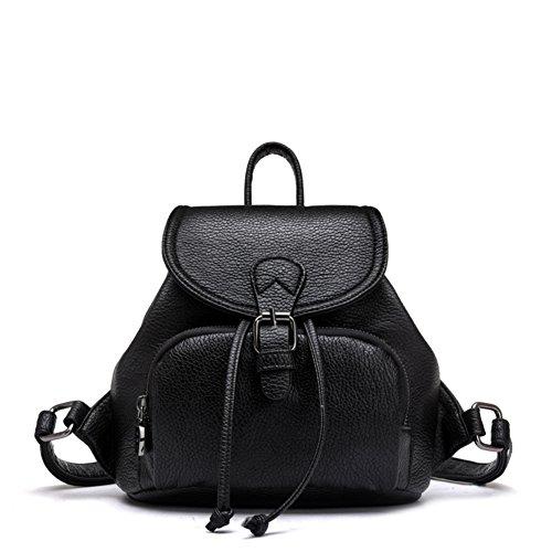 Zaino in pelle morbida/Delle donne britanniche sacchetto di viaggio/Borsa da viaggio/ mini Lady bag-A A