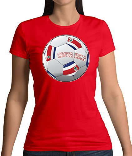 Dressdown Country Football Costa Rica - Womens T-Shirt - 14 Colours