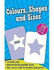 Colours, Shapes & Sizes - Flash Cards