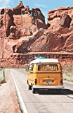 "Not all those who wander are lost: Road trip, Arches National Park - 5.06""x7.81"" (12.85x19.84cm) journal/diary/lists."