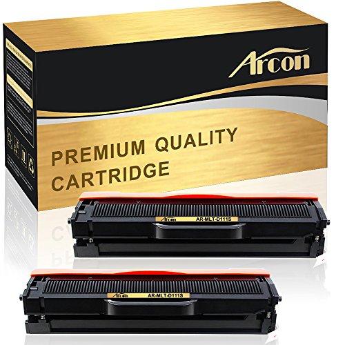 Arcon Kompatibel für Samsung MLT-D111S D111S MLTD111S MLT-D111L D111L MLTD111L für Samsung Xpress SL-M2070W SL-M2022W SL-M2020W SL-M2026W SL-M2070FW SL-M2020 SL-M2022 SL-M2026 SL-M2070 Toner-2 Pack
