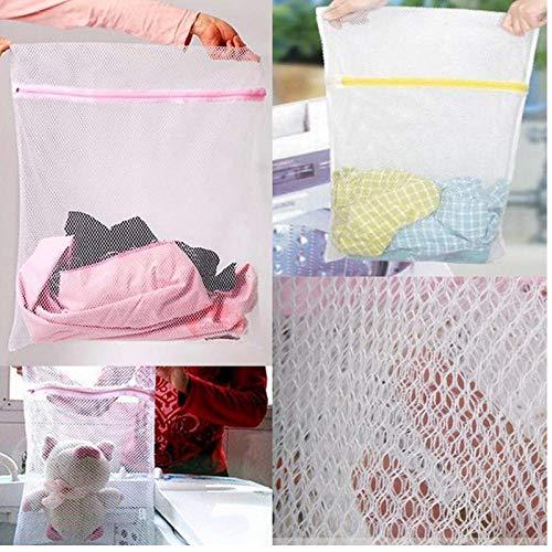 Oulensy 1Pc 30x40cm Frauen-Wäsche waschen Wäschebeutel Haus unter Verwendung Waschen Netz-Ineinander greifen Washing Taschen-Speicher-Organisator -