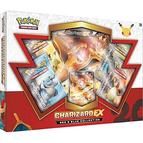 Pokemon TCG Red & Blue Collection: Charizard EX (Pokemon Generation)