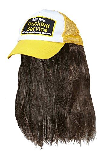 r Hut mit Haaren, unisex-adult, One Size (Hut Mit Haar)