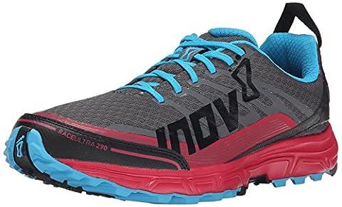 inov-8 Race Ultra 290 trail running shoe Ladies grey/pink Size 40 2015 trail running shoe