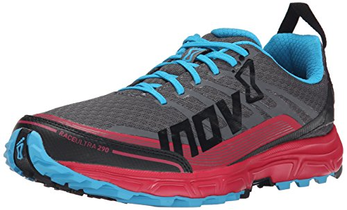 inov-8 Race Ultra 290 Women grey/berry/blue 2015 Laufschuhe grau rot blau