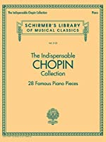"The Indispensable Chopin Collection contains 28 of Chopin's most famous pieces in arrangements for solo Piano, including: Étude in C minor Op. 10, No. 12 ""Revolutionary,"" Nocturne in C minor Op. 48 No. 1, Prélude in D-flat Major Op. 28 No. 15 ""Raindr..."