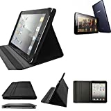 K-S-Trade High Quality für Lenovo A7-50 3G Schutz Hülle Business Case Tablet Schutzhülle Flip Cover Ultra Slim Bookstyle Tasche für Lenovo A7-50 3G, Schwarz. Kunstleder Qualitätsware