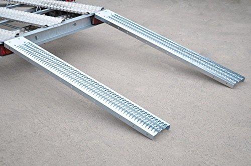 AB Tools-Toolzone Par 226kg rampas de Carga 6ft 1,83 m para remolques...