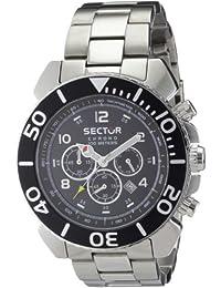 Sector Herren-Armbanduhr XL Centurion Chronograph Edelstahl R3273603325